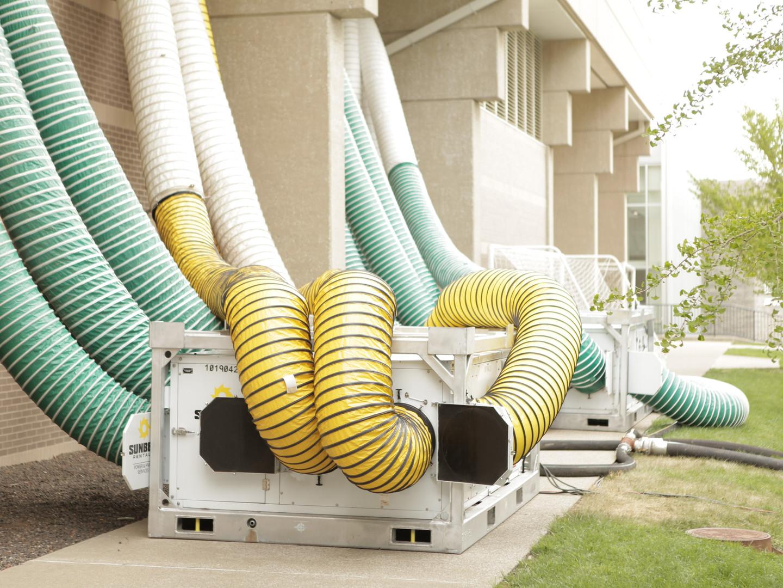 Temorary HVAC System