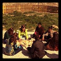 Grupo del curso de Comunicación con Animales