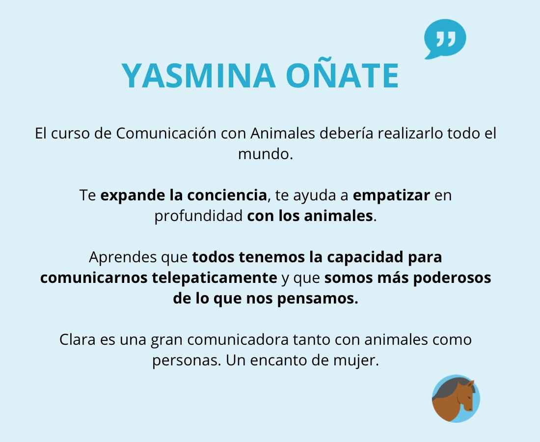Testimonio de Yasmina