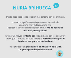 Testimonio de Nuria