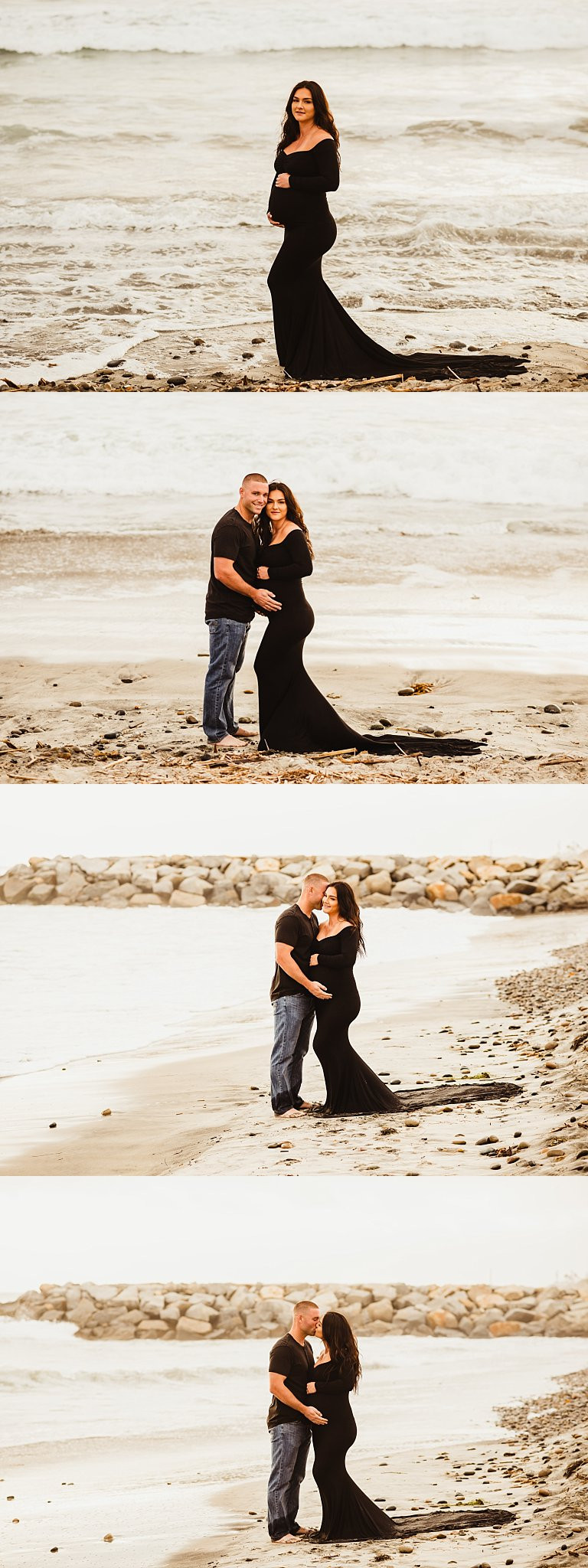 San Diego Beach Maternity Photographer