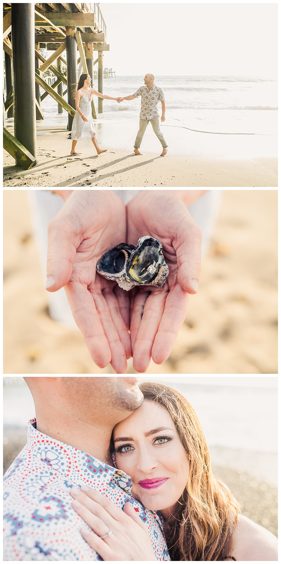 Sunset Beach Engagement Session