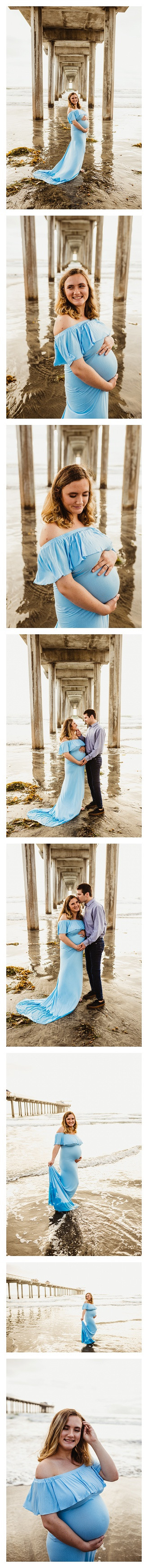 San Diego Beach Maternity Session