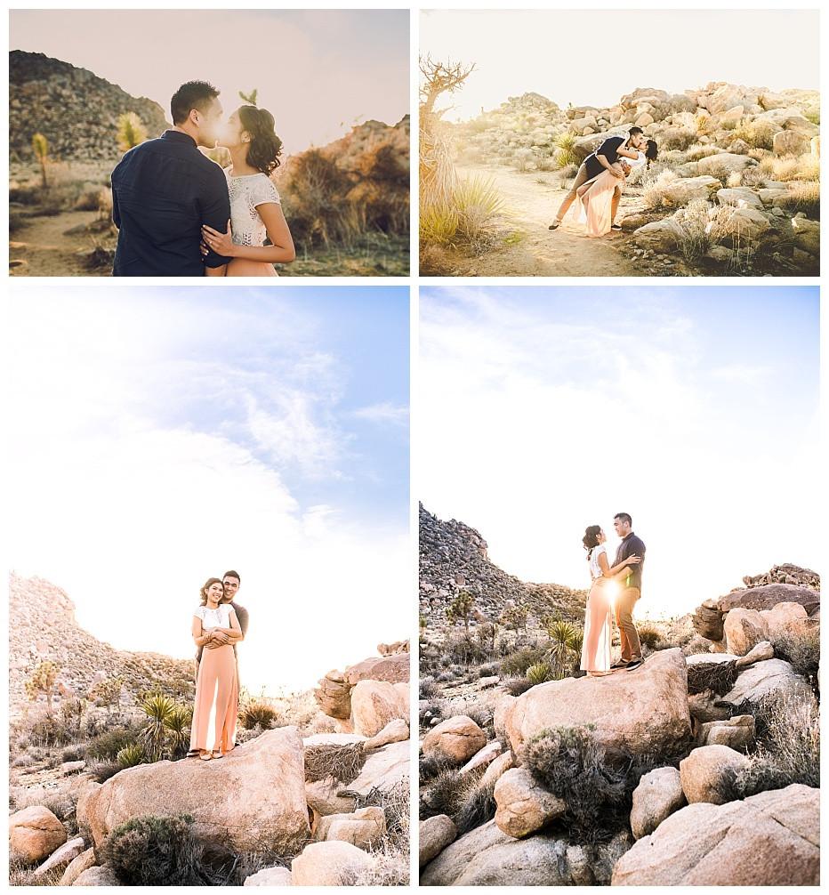 Desert Engagement Portraits