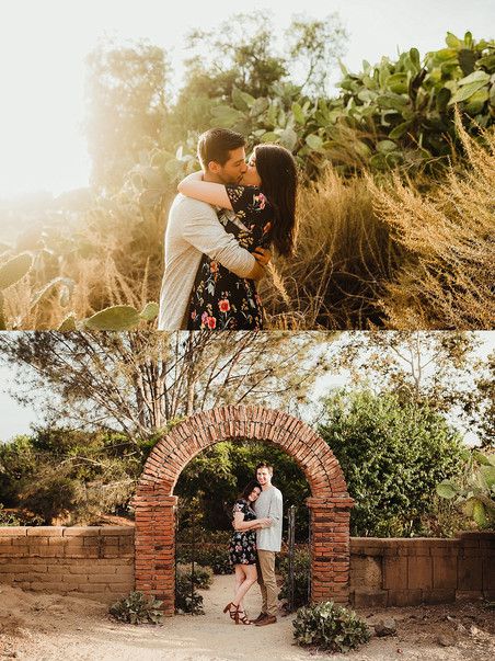 San Diego Wedding Photographer / San Luis Rey Mission Engagement