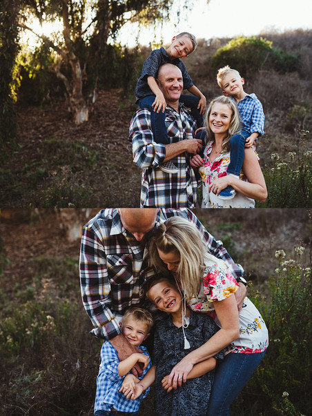 Successful family portraits in 3 easy steps!