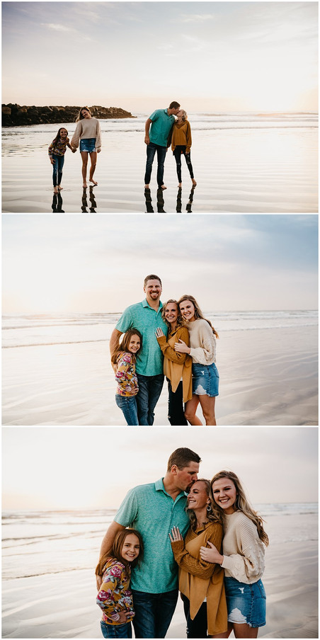 San Diego Beach Family Portraits / San Diego Family Photographer