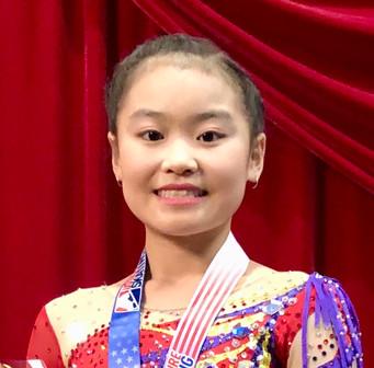 Dallas FSC National Junior Ladies Competitor Tamnhi Huynh