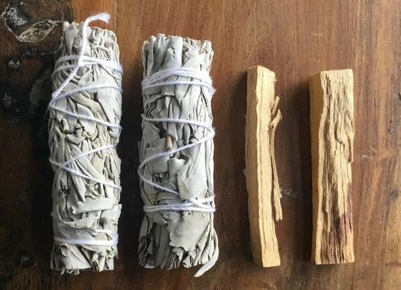 White Sage & Palano Stick Pack