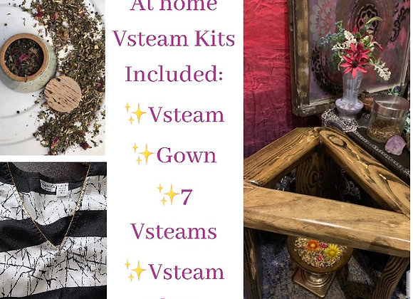 Yoni Steam at Home Kit ~Includes Chair,Gown,and Herbs!