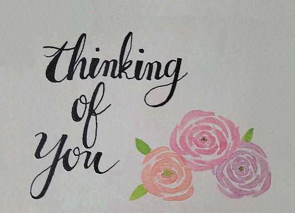 MIYA'S ART SHOP GIFT CARD - Thinking of You