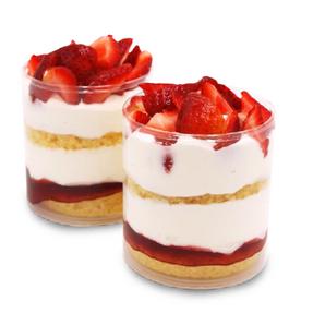 Vegan Strawberry Shortcake Trifle
