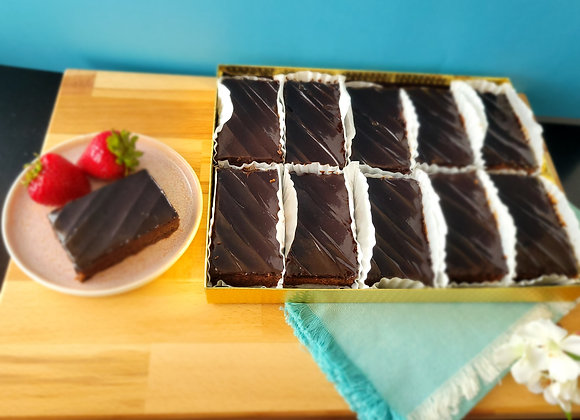 Chocolate Brownies with Chocolate Icing 1 Kg