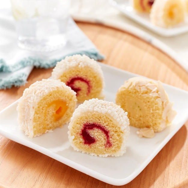 Mini Swiss Rolls