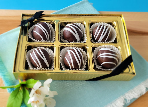 Chocolate Rum Balls 6