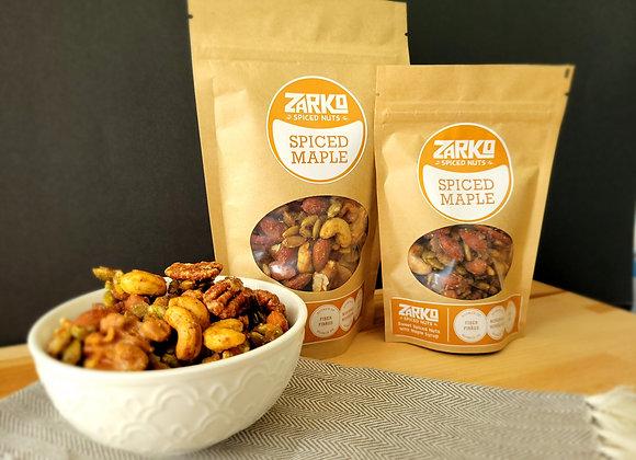 Box of Zarko Roasted Spiced Maple Nuts 14 X 70 gr