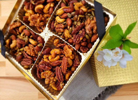 Roasted Spiced Nuts Assortment