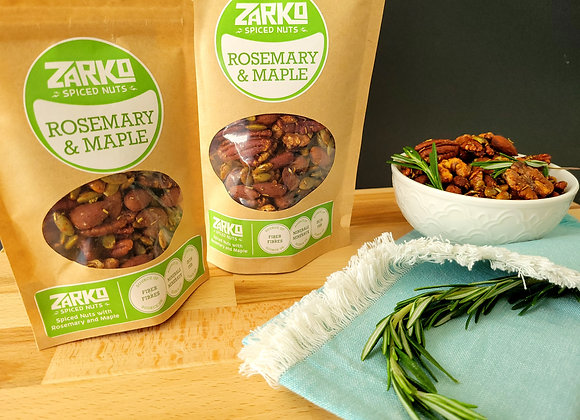 Zarko Roasted Rosemary & Maple Spiced Nuts 150 gr
