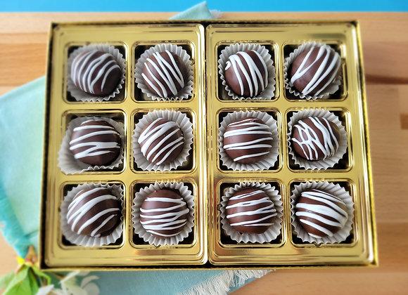 Chocolate Rum Balls 12