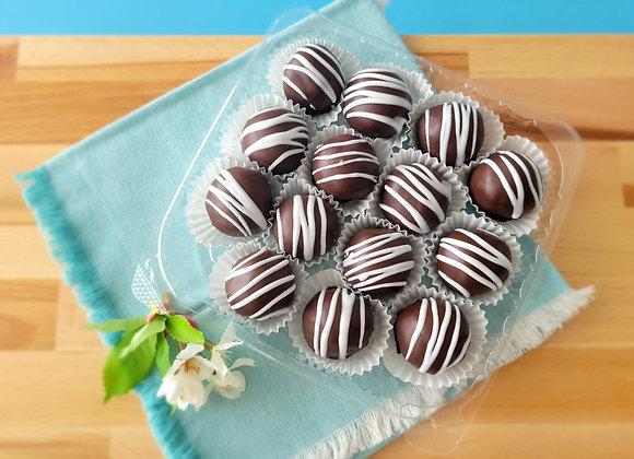 Rum chocolate balls Large Pack (14 rum balls 35gr each)