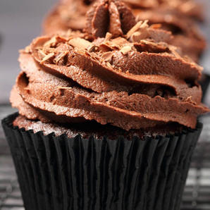 Classic Chocolate Vegan  Cupcakes