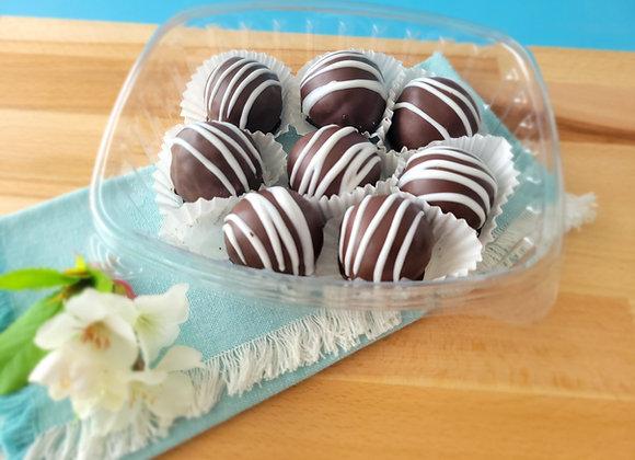 Rum chocolate balls Medium Pack (8 rum balls 35gr each)