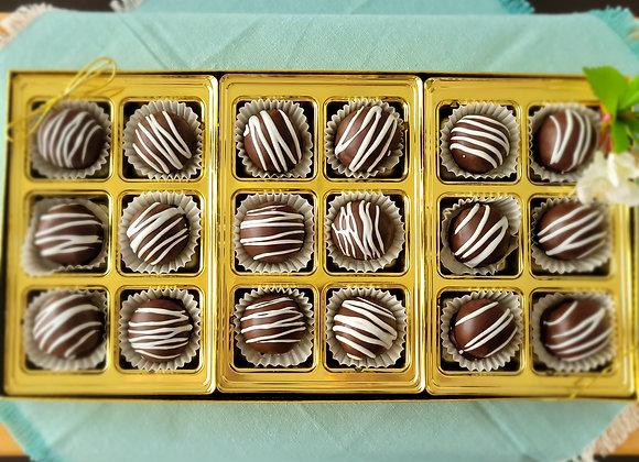 Chocolate Rum Balls 18
