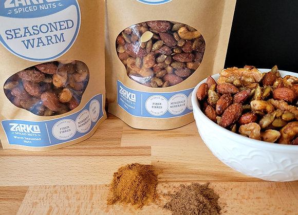 Zarko Roasted Seasoned Warm Spiced Nuts 150gr