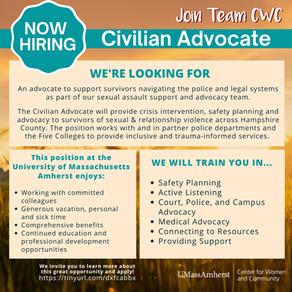 Job Postings: Center for Women and Community