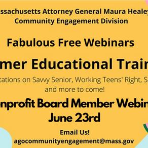 Jun 23: Nonprofit Board Member Webinar