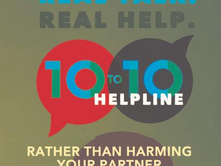 Ten to Ten Helpline Flyer