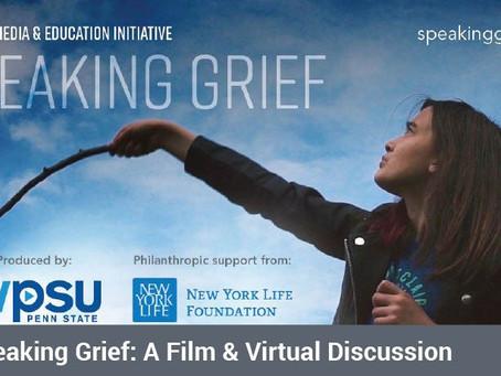 Jun 24: Speaking Grief