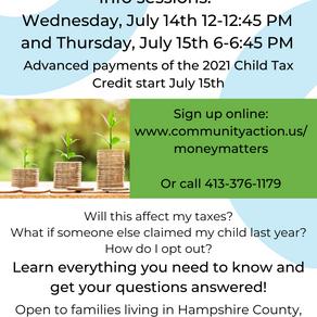 Jul 14 & 15: Child Tax Credit Webinars