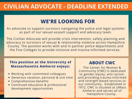 Job Posting: Center for Women and Community