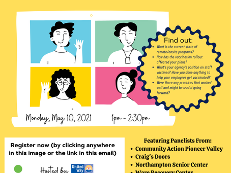 May 10: (Re)Opening Up: A Community Conversation