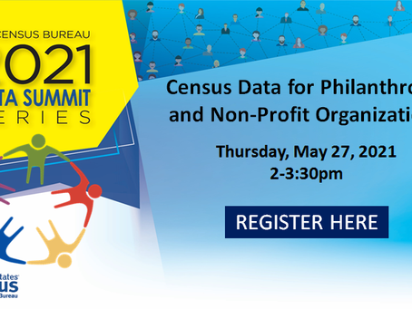 May 27: Census Data for Non-Profit Organizations