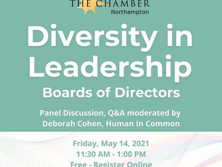 May 14: Developing Board Diversity
