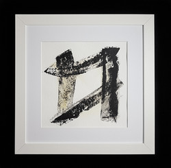Matthew G. Beall Asemic Squared 25 x 25 cm 2017 (2)