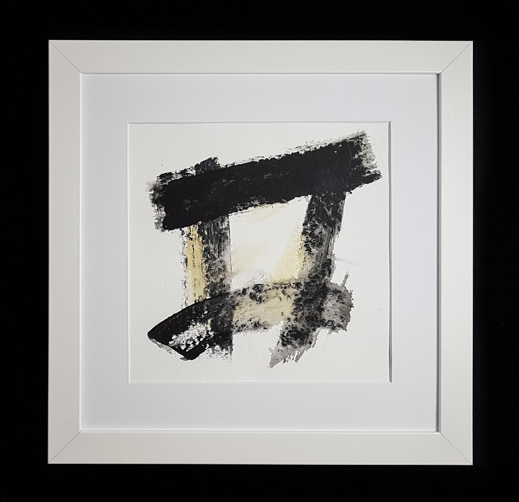 Matthew G. Beall Asemic Squared 25 x 25 cm 2017 (4)