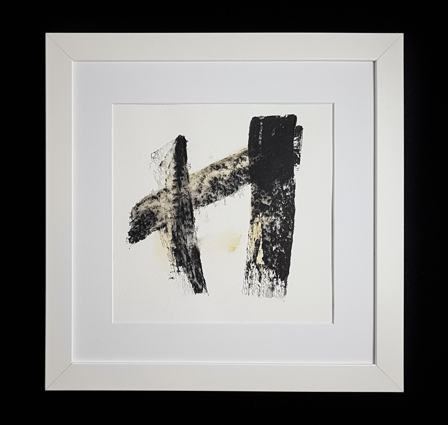Matthew G. Beall Asemic Squared 25 x 25 cm 2017 (1)