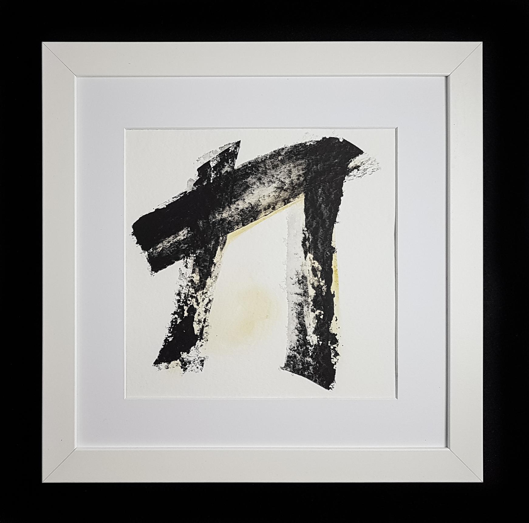 Matthew G. Beall Asemic Squared 25 x 25 cm 2017 (3)