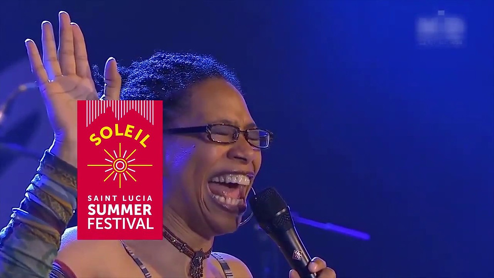 Rachelle Ferrell is coming to Saint Lucia!