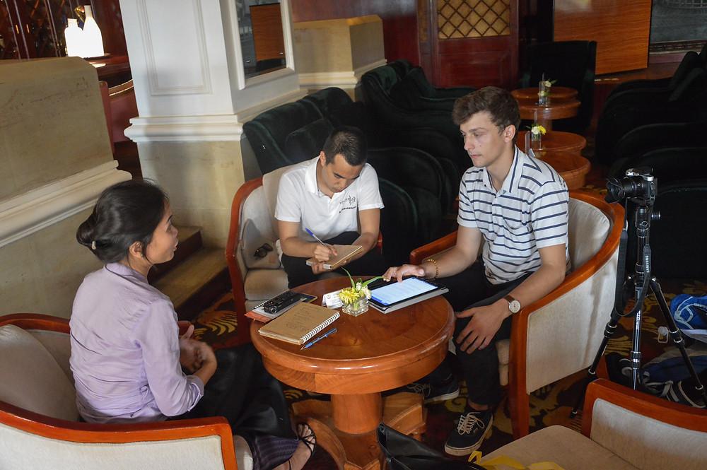 Rencontre avec Solinn Lim, d'Oxfam Cambodge
