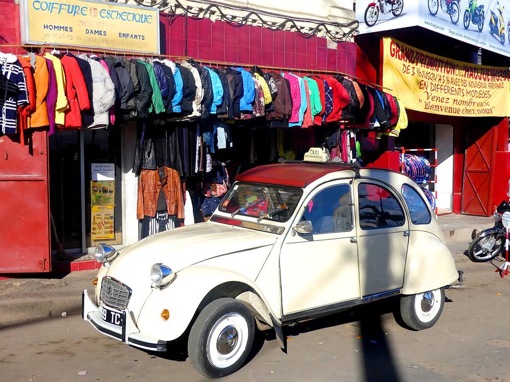 Taxi old school dans Tana