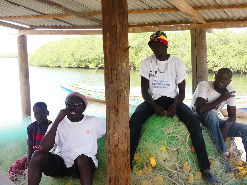 Interview avec le chef du village de Wandié