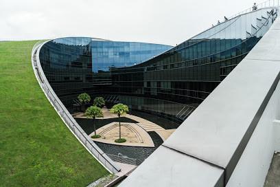 Certains bâtiments étaient particulièrement originaux, comme The School of Arts