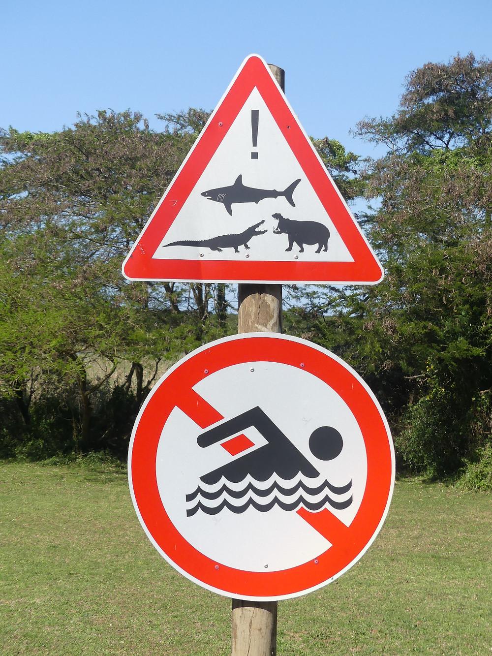 Panneau de signalisation à Saint Lucia