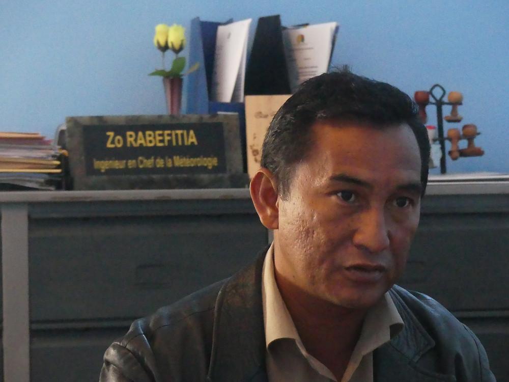 Rabefitia Zo, ingénieur en chef de la météorologie