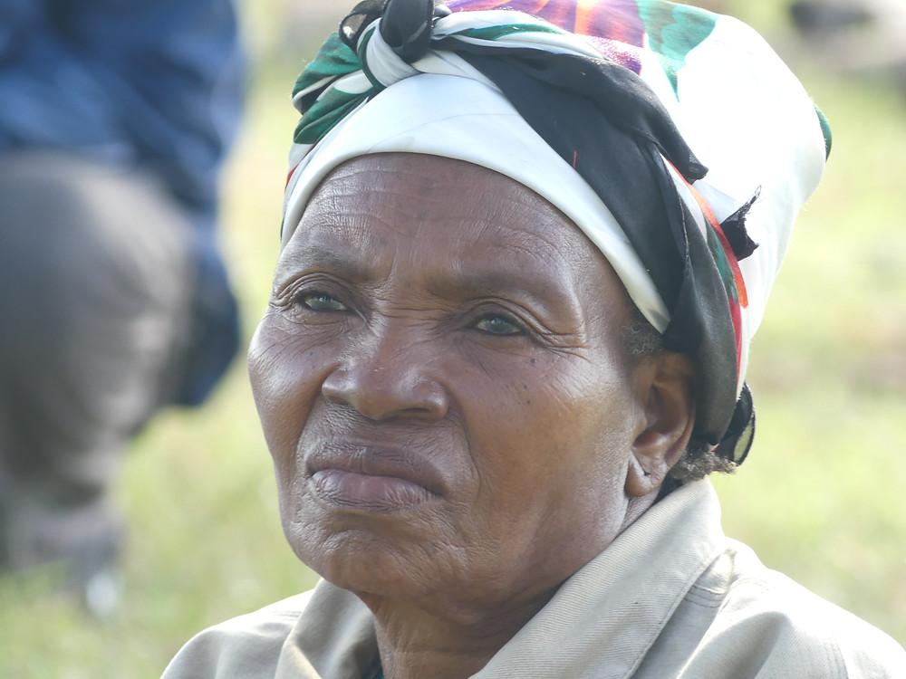 Femme Xhosa de la communauté