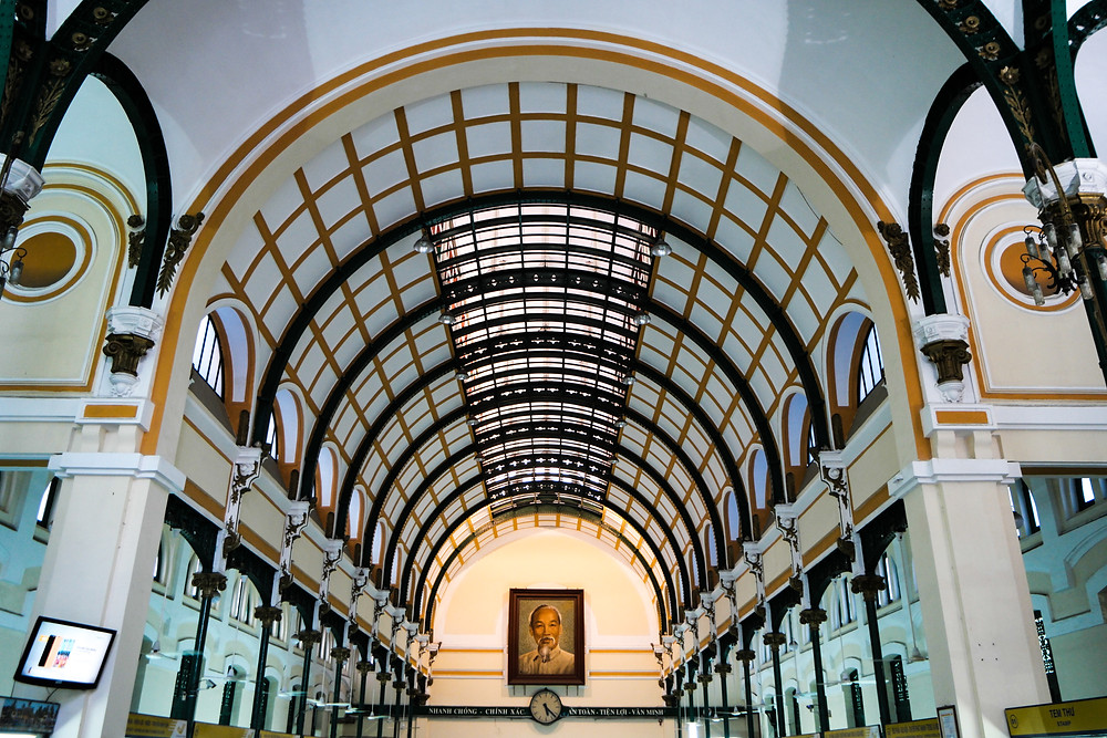 Poste centrale de Saigon